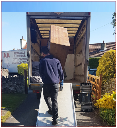 AA Removals Men In Scarborough Home, Office and Business Removals