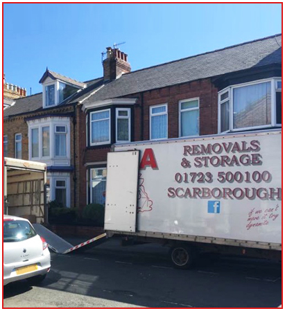 Removals Vans in Scarborough
